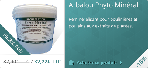 Promotion -15% Arbalou Phyto Mineral