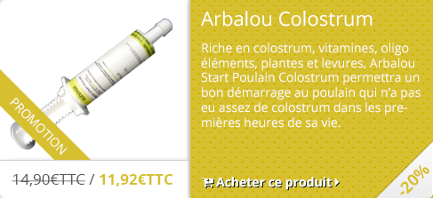 -20% Arbalou Start Poulain Colostrum