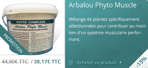 -15% sur l'Arbalou Phyto Muscle
