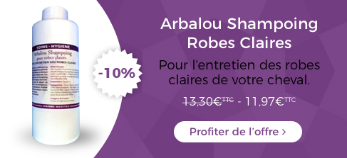 Arablou Shampoing Robes Claires