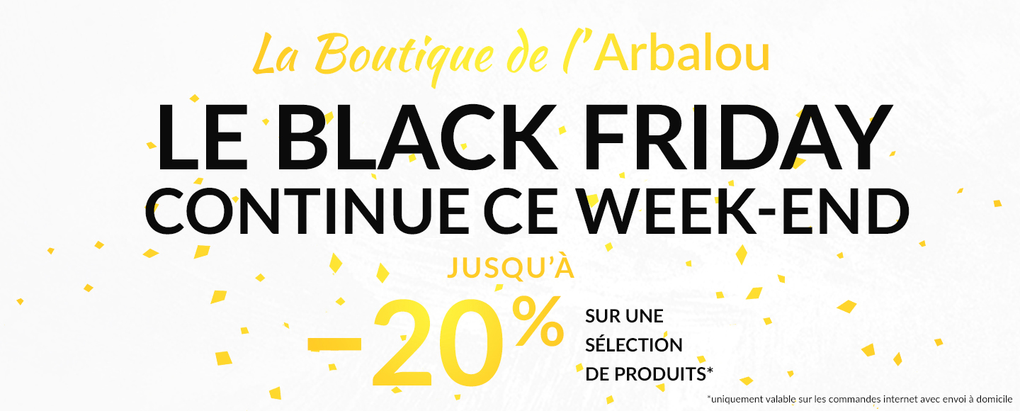 Le Black Friday continue ce Week-end !