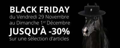 Black Friday du 29/11 au 01/12